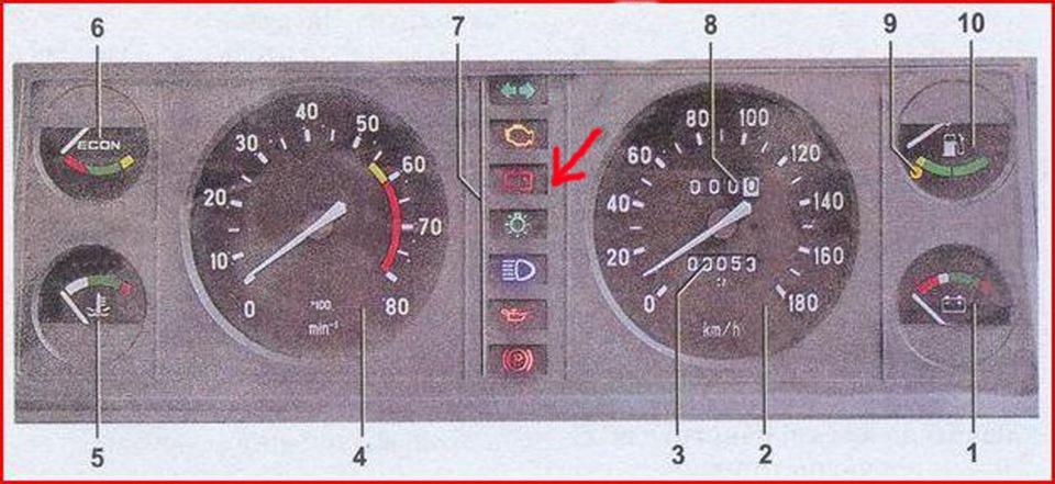 Фото №13 - панель от ВАЗ 2110 на ВАЗ 2107