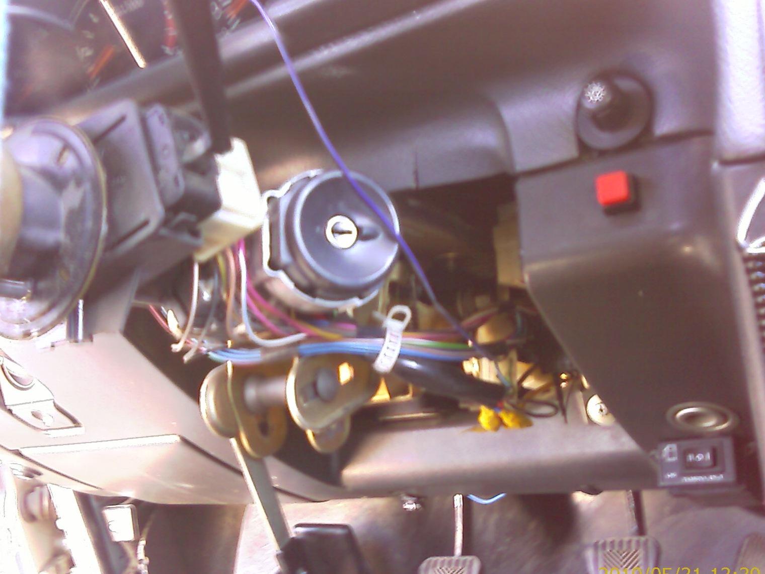 Давно хотел себе сделать запуск двигателя с кнопки.  Перерыл весь инет как это сделать.  Оказалось все просто.