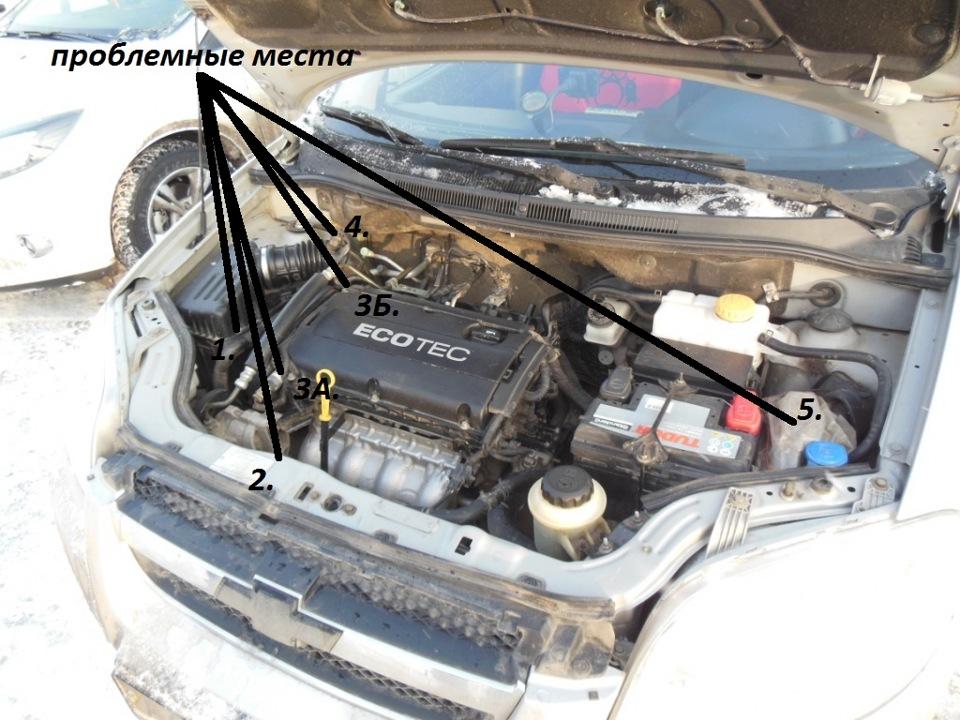 Руководство По Эксплуатации Шевроле Авео 2008 Двигатель 1.4 101 Л.с