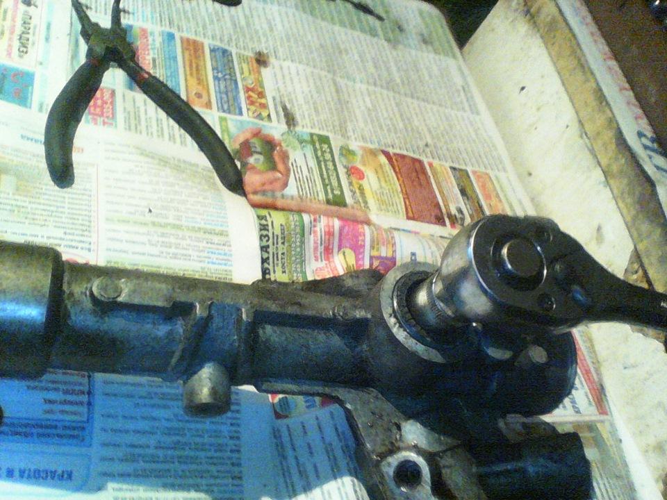 Ремонт рулевой рейки своими руками видео шаран