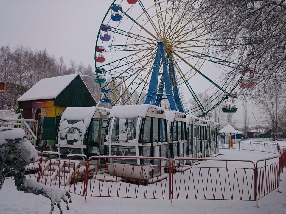 Стерлитамак парк гагарина чертово колесо фото