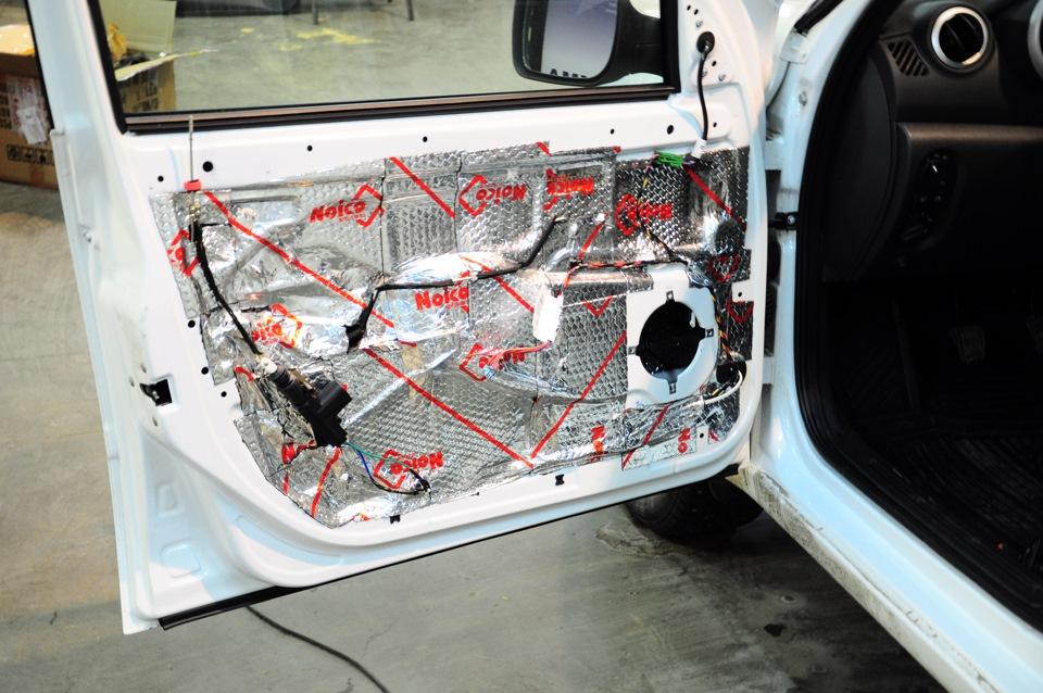 Шумоизоляция дверей! (+ Важная инфа всем владельцам датсунов/калин/грант) - бортжурнал Datsun on-DO Элегантный 2014 года на DRIV
