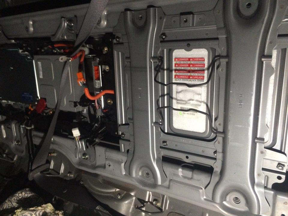 блок гибридных батарей в honda civic