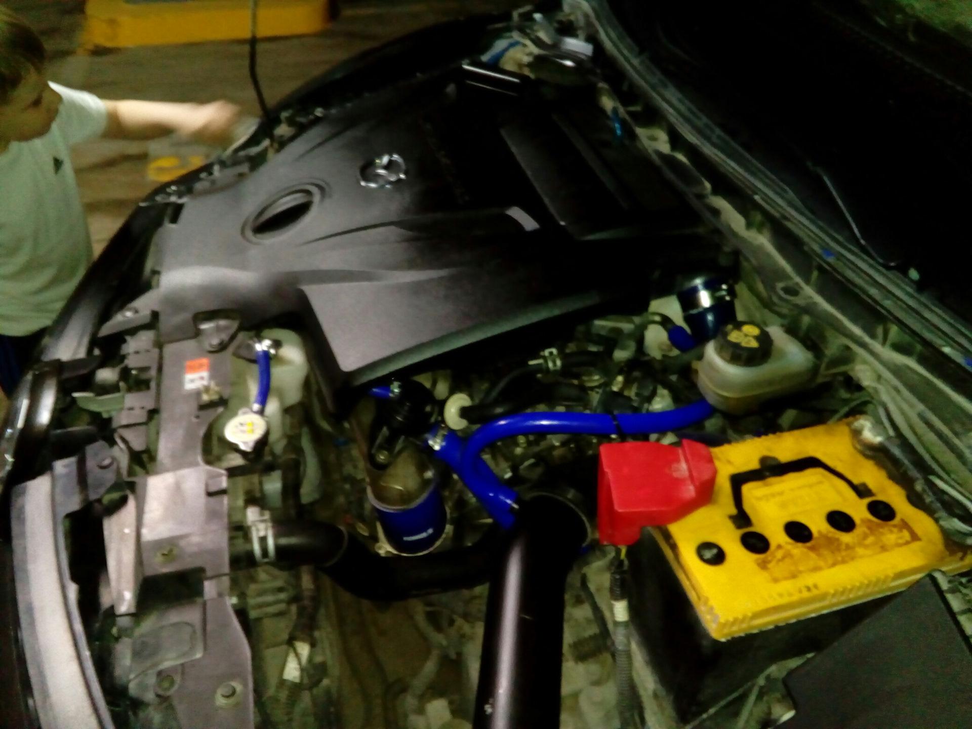 Замена клапанной прокладки мазда сх 9 Ремонт моторчиков охлаждения киа сид 2010