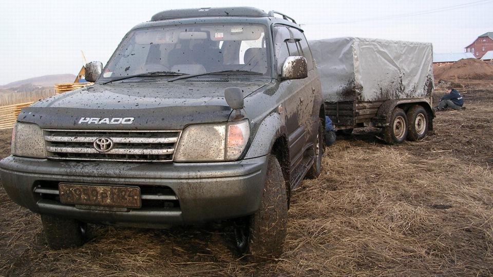 toyota land cruiser prado-90 отзывы дизель