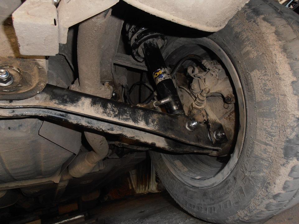 митсубиси спайс вагон.схождение передних колес