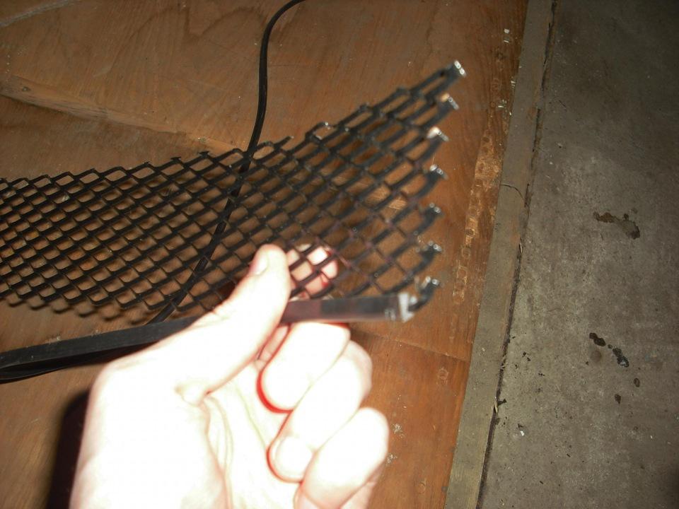 Сетка защиты радиатора своими руками 65