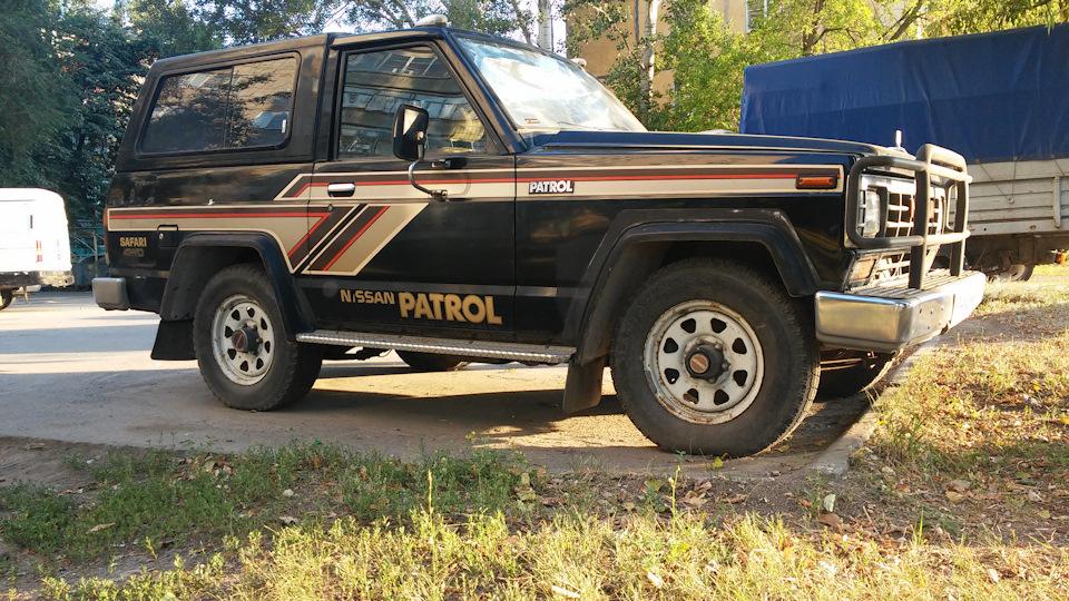 Nissan Patrol Safari Style
