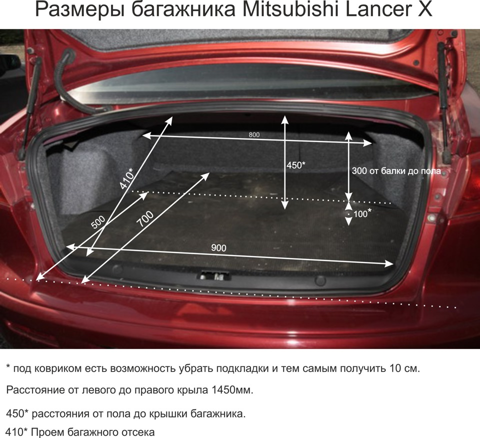 багажник лансер 10 фото