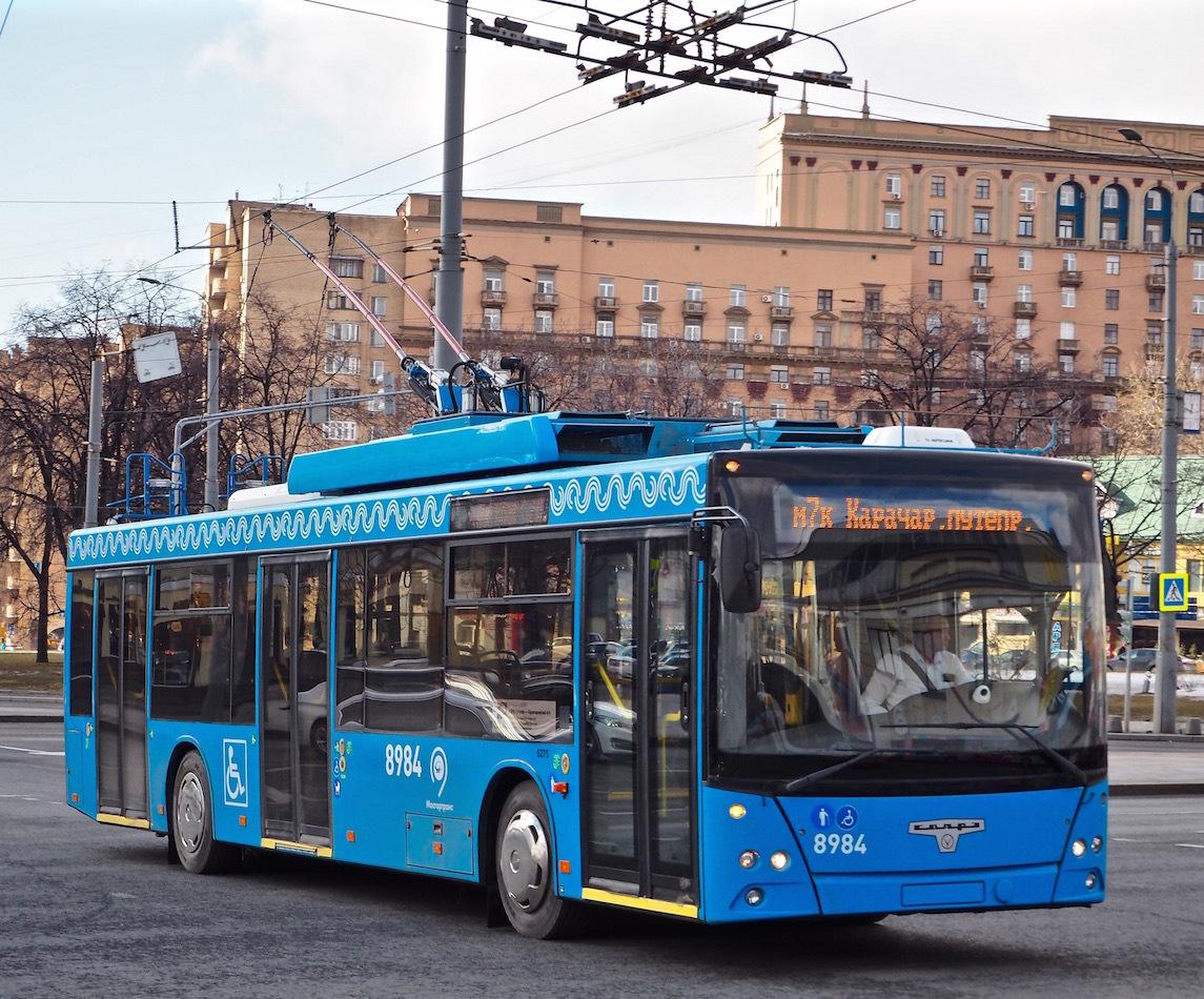 том, троллейбусы в москве фото период
