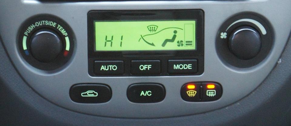 климат контроль chevrolet lacetti
