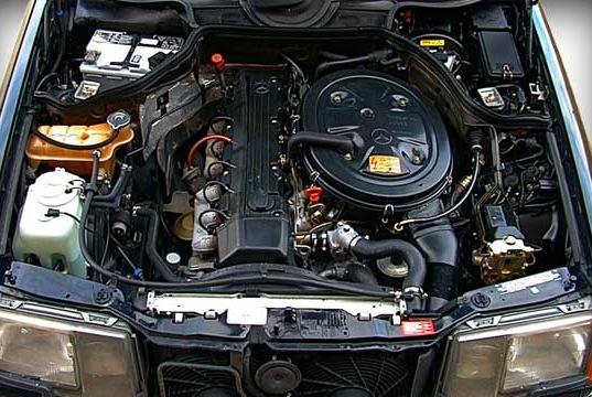 мерседес 103 двигатель фото