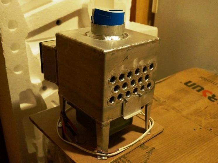 Теплообменник для газа своими руками 91