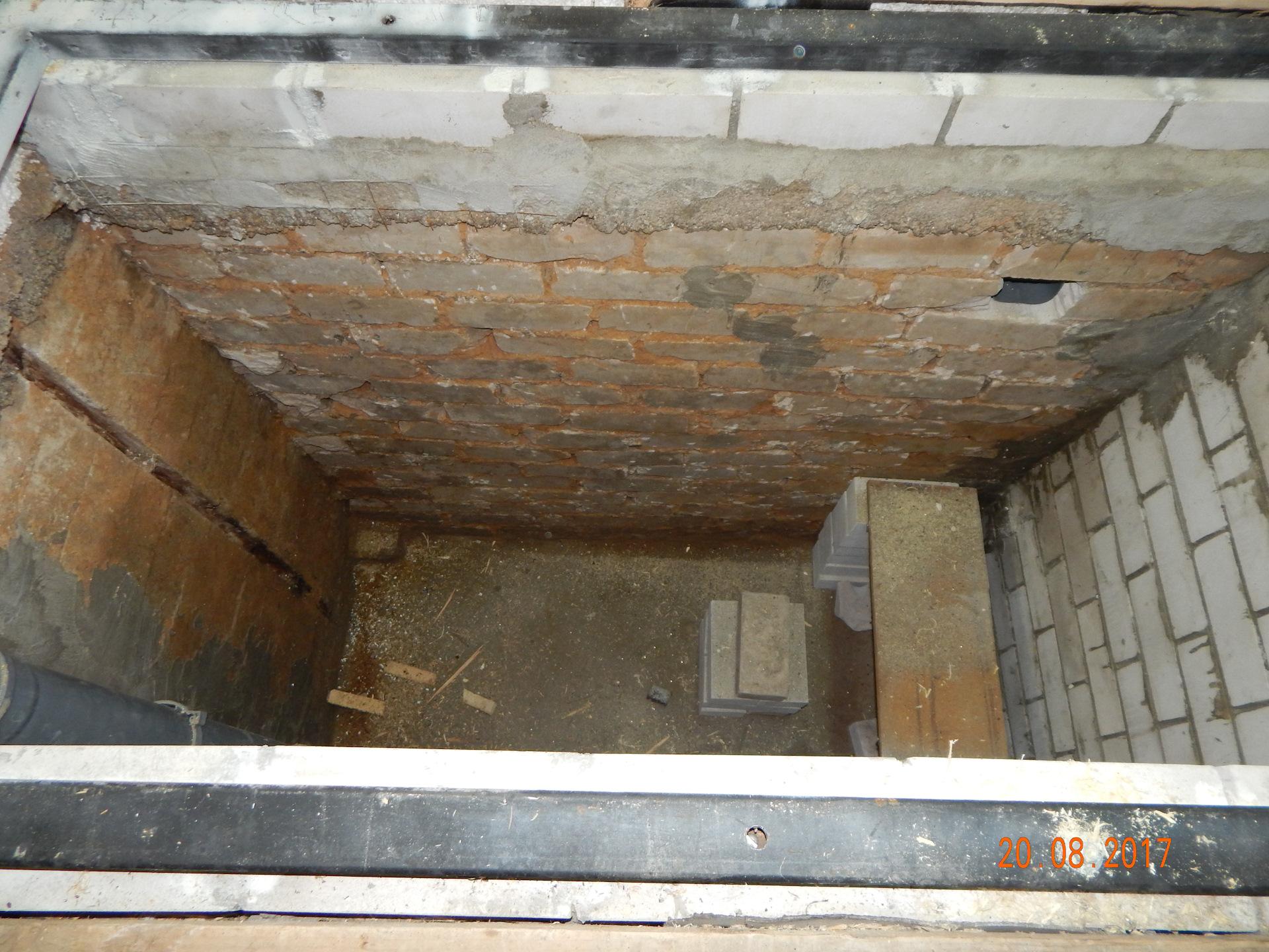 Как сделать яму в гараже если есть подвал своими руками фото 488