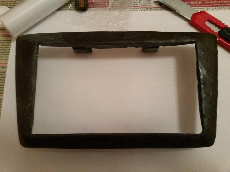 Рамки для магнитолы своими руками