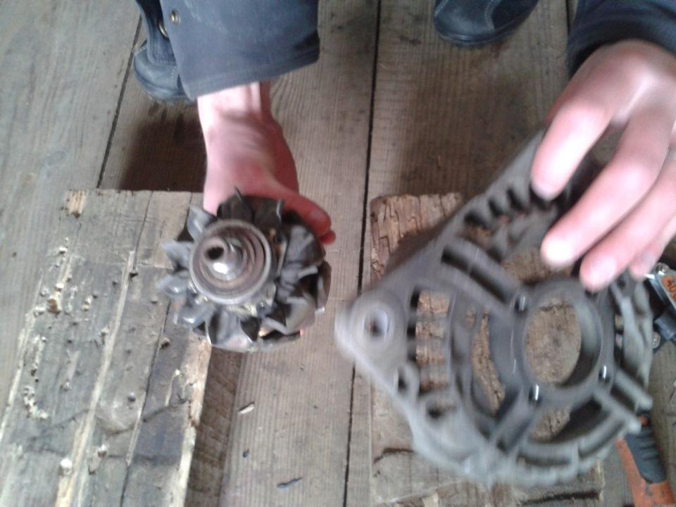 Фото №18 - замена токосъемных колец генератора ВАЗ 2110