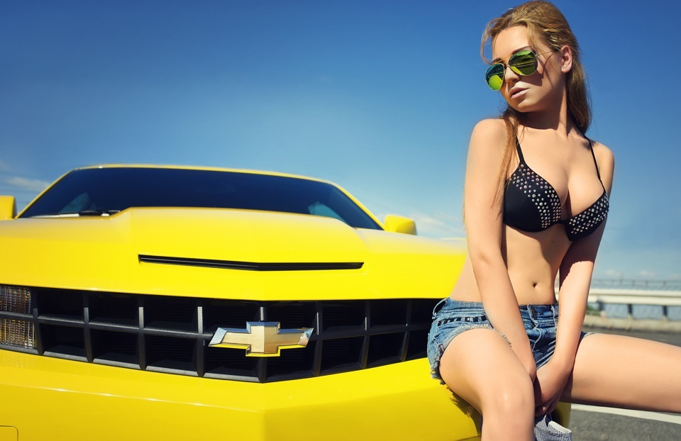 Sexy and nude wallpapers tagged with chevy camaro