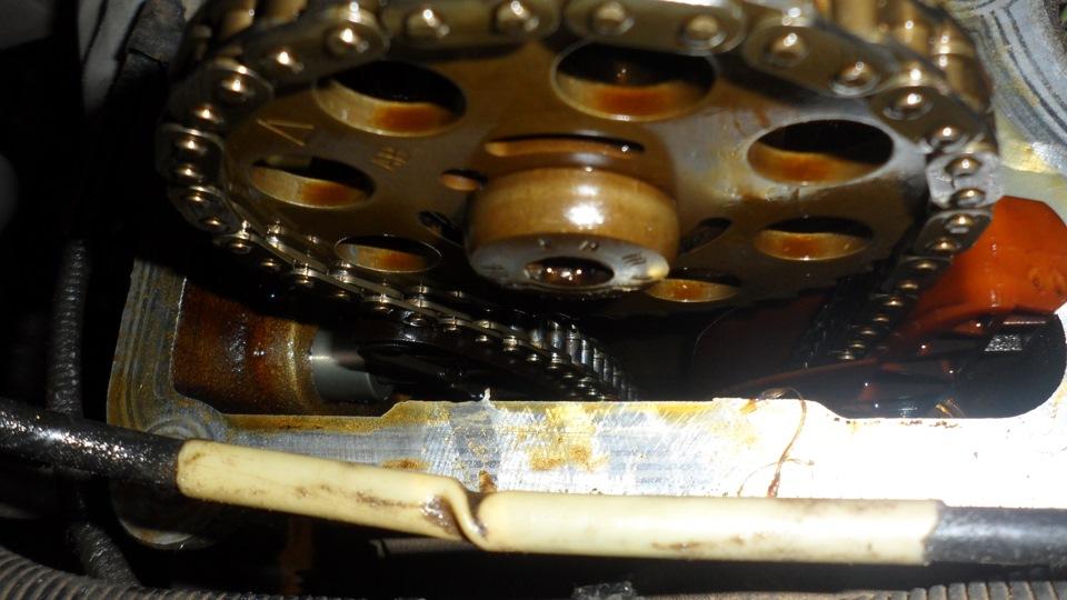 Замена цепи грм форд фокус 2 2.0 фото