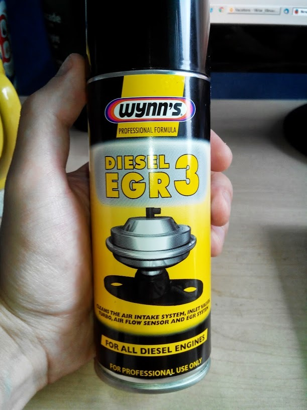 how to use wynns egr cleaner