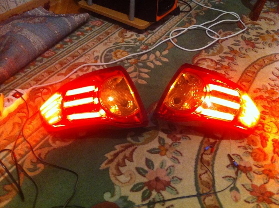 Светодиоды своими руками в задние фонари