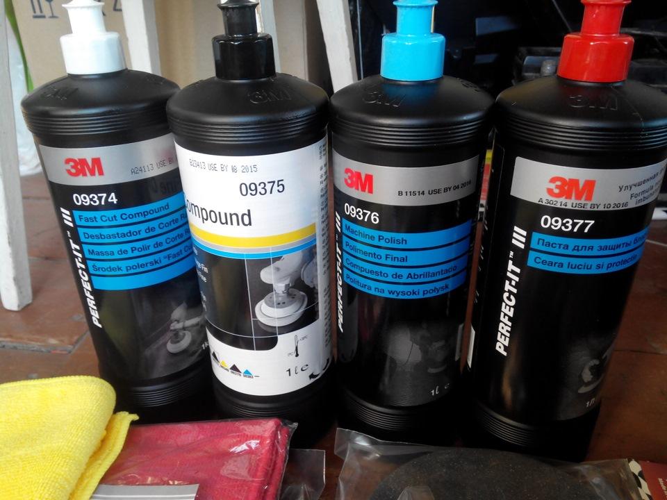 Мытищи какую пасту выбрать для полировки автомобиля слежения