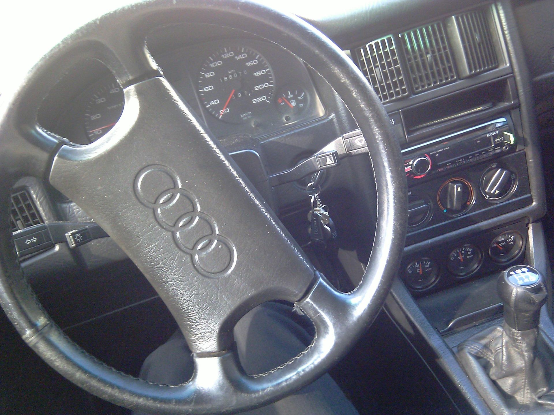 Перетяжка руля кожей - бортжурнал Audi 80 Exclusive Edition 1989 года на DRIVE2