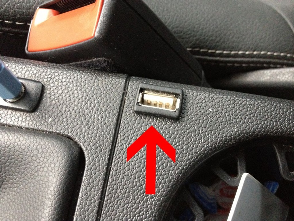 USB порт от прикуривателя