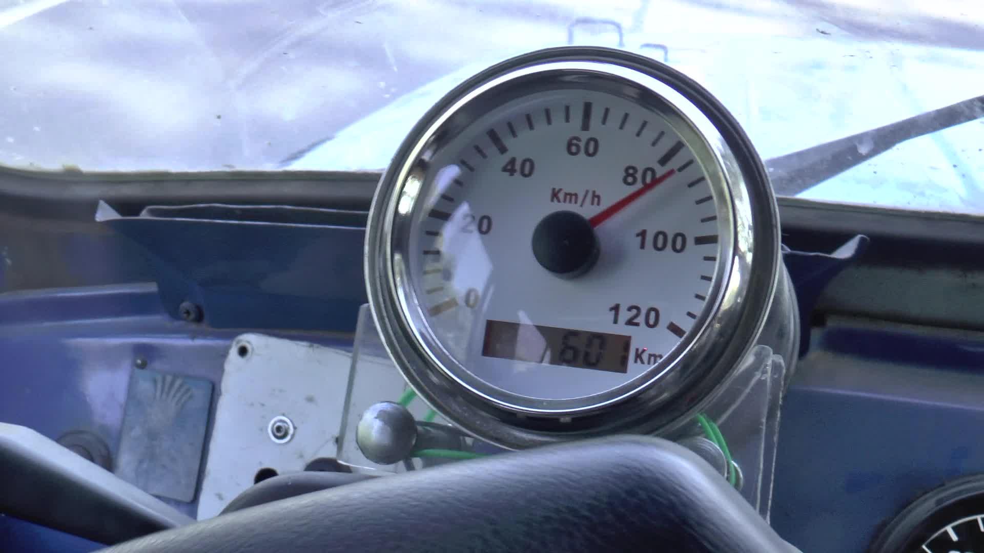 GPS спидометр на УАЗ 469
