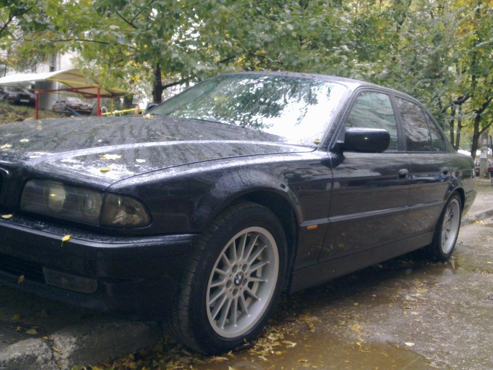 BMW E38 Club - Отчет об установке рестайлинговых пластиковых порогов на дорестаил е38