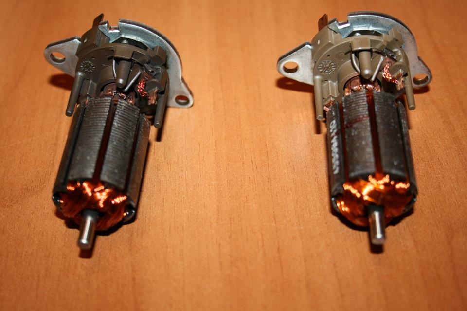 Моторчики одинаковые