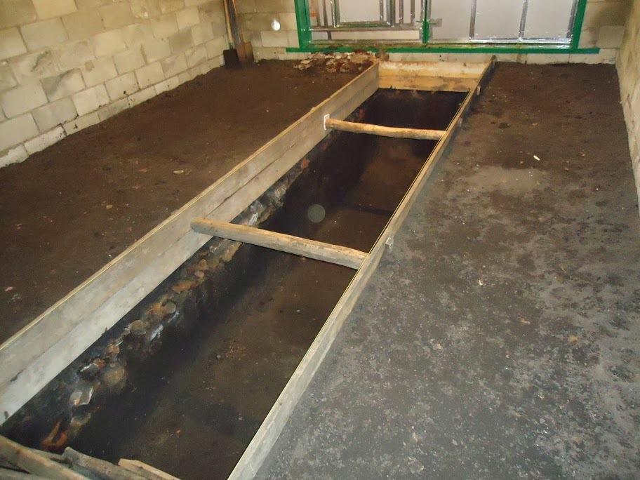акробатических смотровая яма в гараже фото ненужные лоскутки