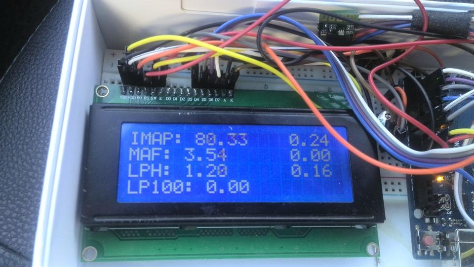 Бортовой компьютер своими руками gps