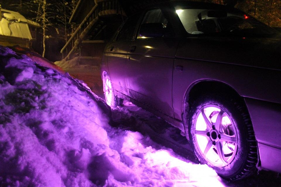 светящиеся картинки на колеса автомобиля