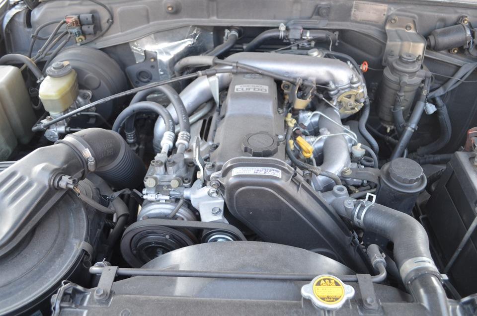 Схема двигателя 1кз-те