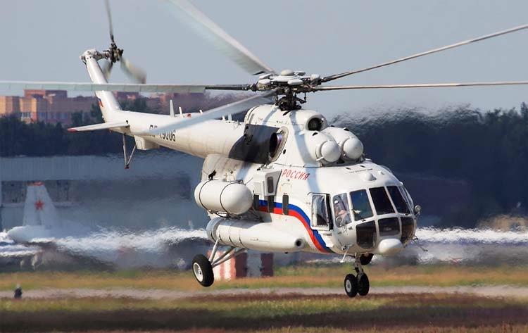 ВКонго обстреляли русский вертолет