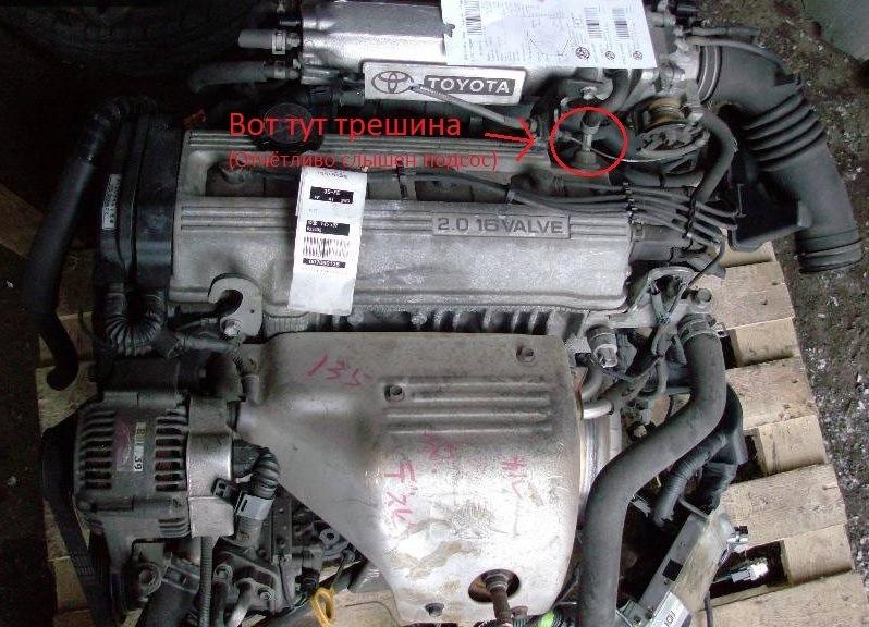 Сапун двигателя сосет воздух