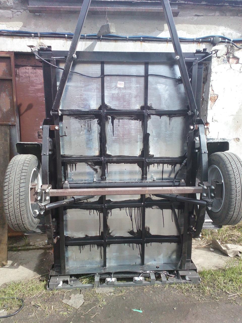 Ремонт автоприцепа курганского