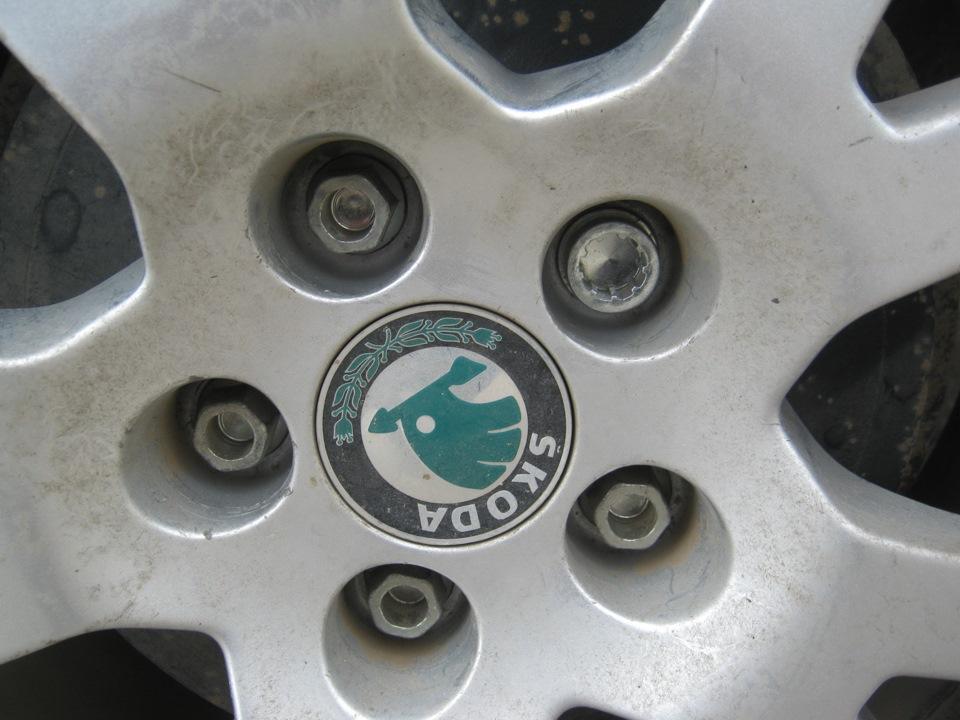 колпачки на болты колес skoda йети