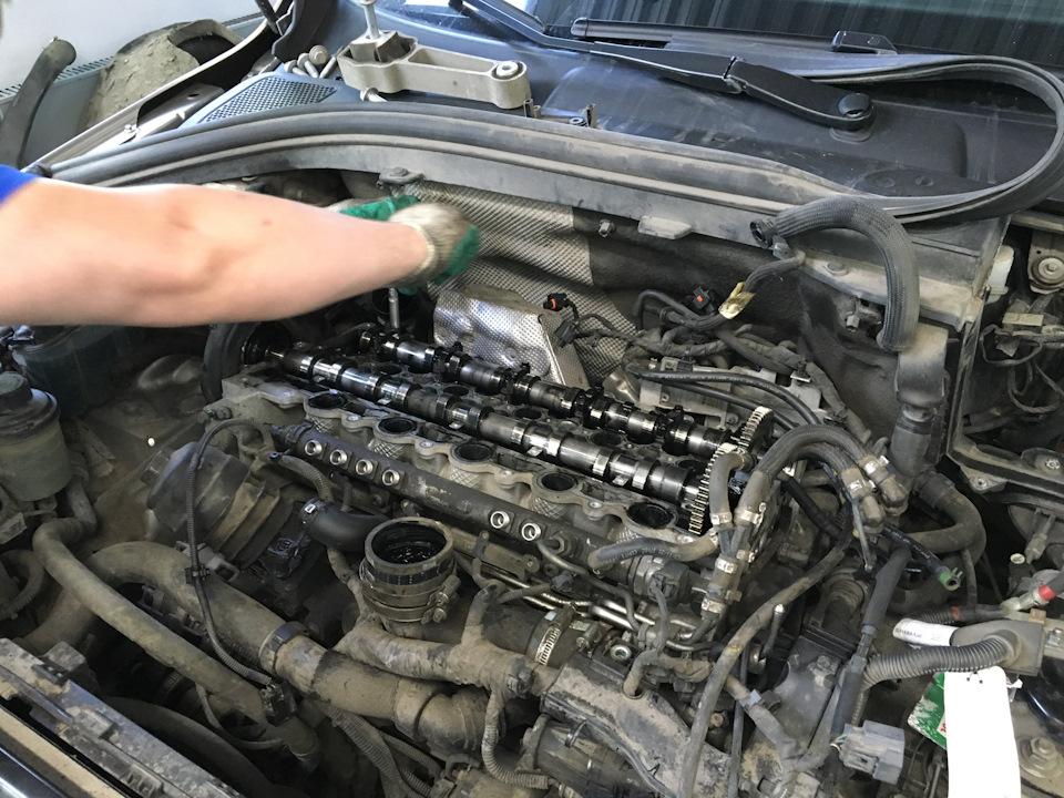 Замена дизельного двигателя своими руками 95