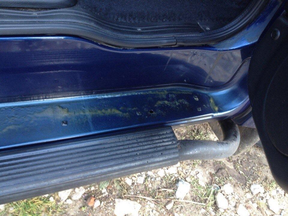 Заливка порогов авто мовилем в домашних условиях - Раум Профи