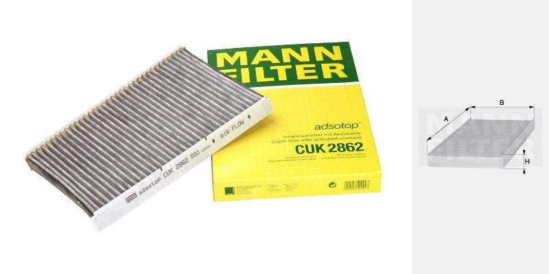 mann filter cuk 2862