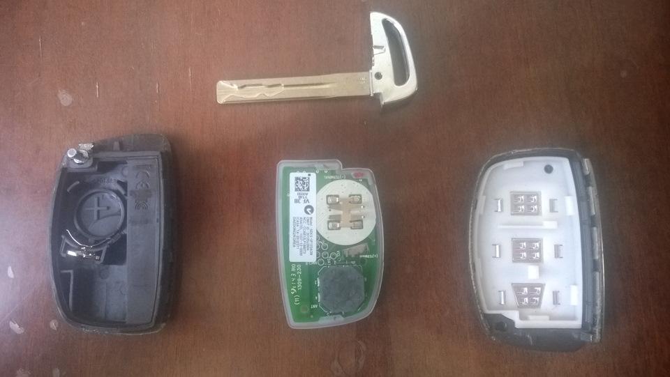 i40 hyundai заменить батарейку