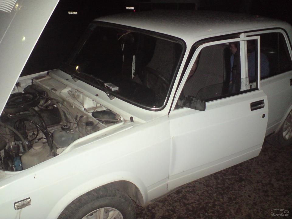 Как выпрямить вмятину на двери автомобиля  ваз 21099