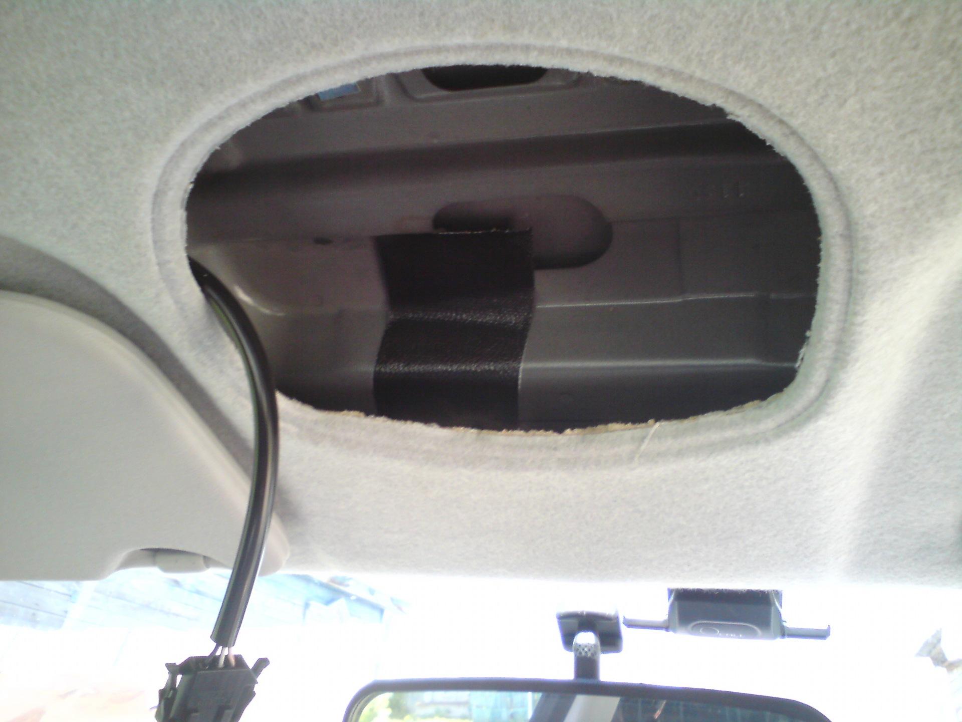 Установка автомобильной антенны. Врезка в крышу. Лада ...