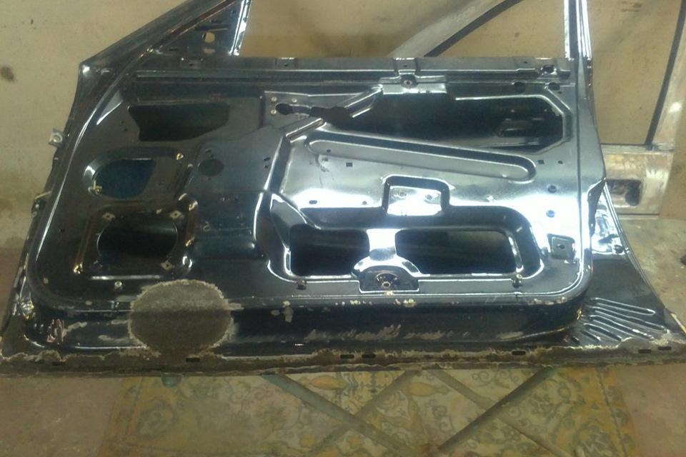 Фото №5 - ремонт дверей ВАЗ 2110
