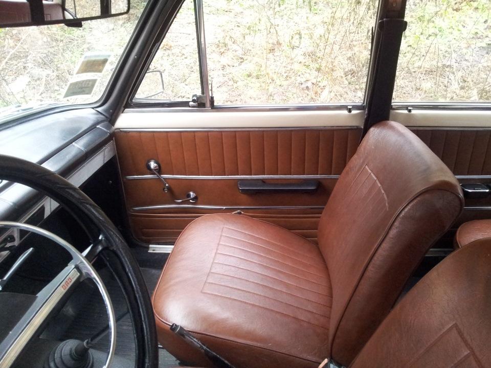 Ваз 2101 установка сидений с иномарки своими руками