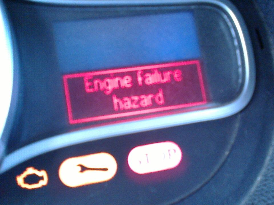 engine failure hazard — Renault Megane, 1.5 л., 2009 года на DRIVE2
