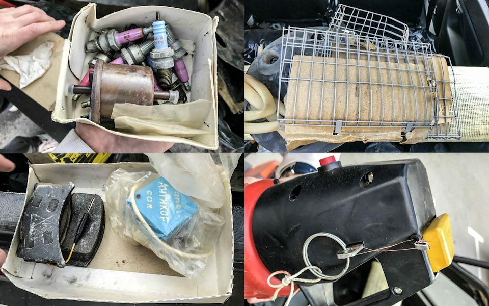 Это лишь небольшая часть совдеповских артефактов, найденных в багажнике. Полный разбор запасов редких запчастей и аксессуаров можно посмотреть на видео внизу статьи