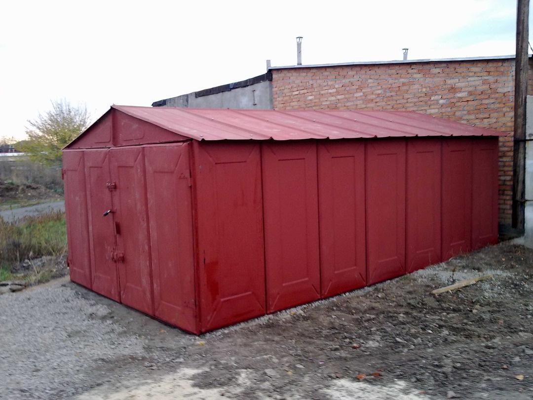 Размеры металлических гаражей разборных в г анапе купить гараж