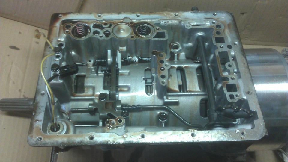 Промыть гидротрансформатор 8
